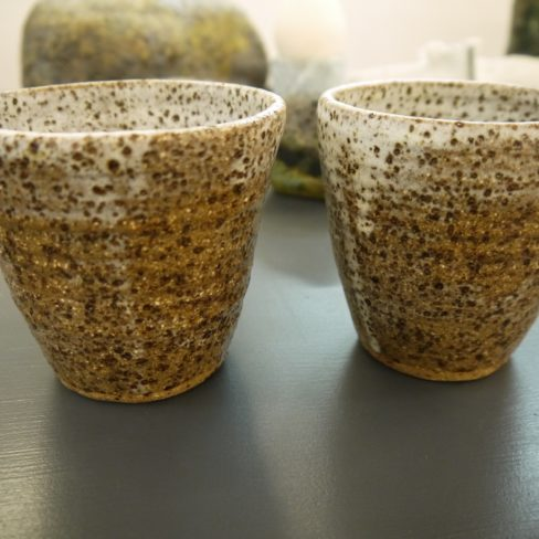 Image of NS  Speckled styro cups