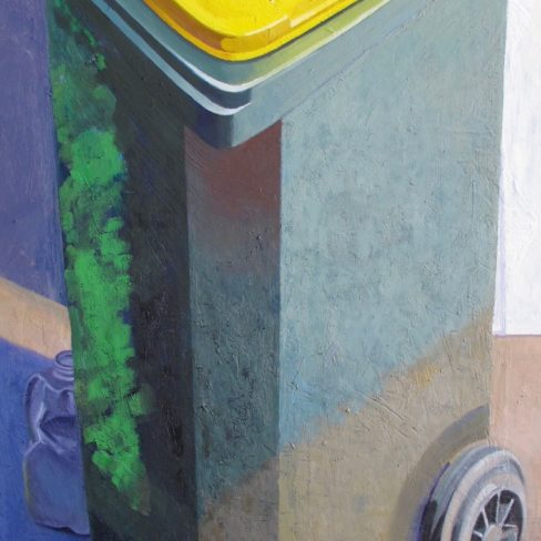Image of MC Yellow Bin Still Life