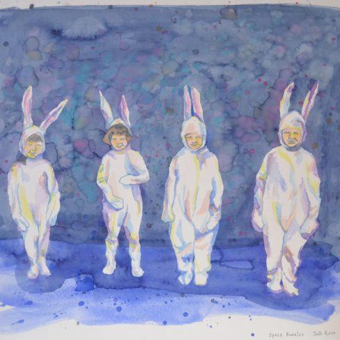 Image of JR Space Bunnies