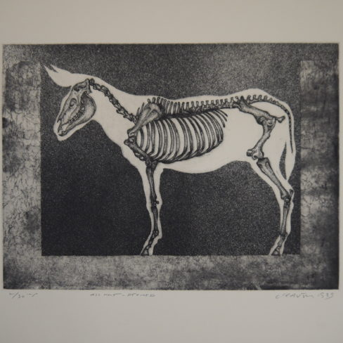 Image of BC Ass – Hole Defined 2/301985Etching (edition2 of 30)Paper:,