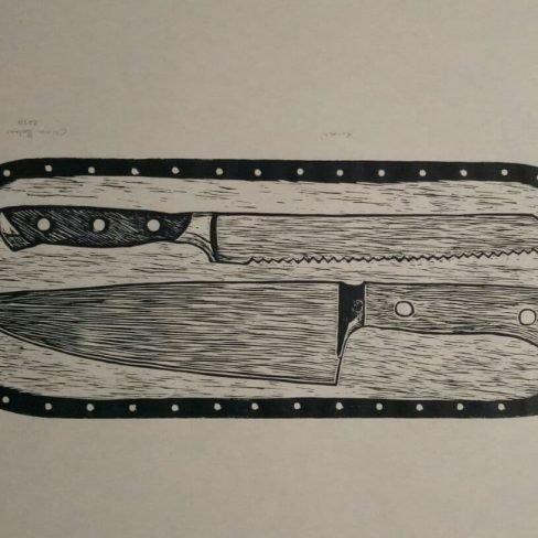 Image of OB Knives Serving Platter